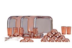 Dynamic Store 36 Pcs Dinner Set With Bottom Copper Plating - DS_308
