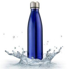 Cola Vaccum Steel water Bottle Blue