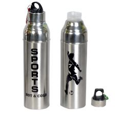 Insulated Hot & Cold water Bottle 1000 ML Set of 2