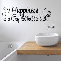 Decor Kafe Happiness is a Hot Bubble Bath  Code - DKBS0116