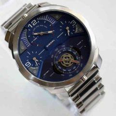 Mens' Watches   Round Dial   Metal Belt   Analog - Diesel Machinus Analog Blue Dial Men's Watch - DZ7361 New collection limited