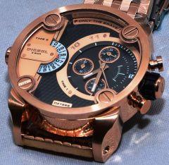 Mens' Watches   Round Dial   Metal Belt   Analog - Diesel Dz7268 Men's Fashion Rose Gold Case Watch