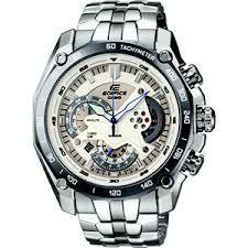 Casio Round White Metal Watch For Men_code-ed391