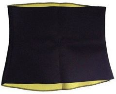 Colonail Unisex Hot Body Shaper Belt Slimming Waist Shaper Belt Thermo Tummy Trimmer Shapewear Large