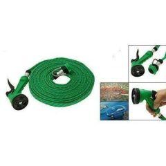 10 Meter Flat Hose Water Gun Spray Garden Pet Car Washing Jet Spray Gun Was