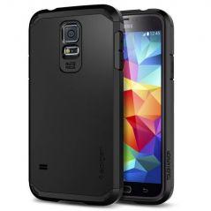 Galaxy S5 Case, Spigen Tough Armor Case For Galaxy S5smooth Black (sgp10761)