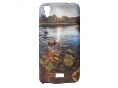 Kelpuj Multicolor Mobile Back Cover For Micromax Canvas Selfie Lens Q345