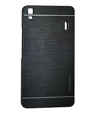 AE MOBILE ACCESSORIES AE MOTOMO METAL HARD BACK COVER CASE FOR LENOVO A7000 BLACK