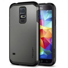 Galaxy S5 Case, Spigen Tough Armor Case For Galaxy S5gunmetal (sgp10762)