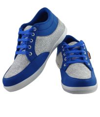 Sneakers for men - Elvace White_lightBlue Bluelite Sneakers Men Shoes-7022A
