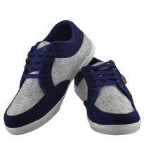 Sneakers for men - Elvace White_darkblue Bluedark Sneakers Men Shoes-7024A