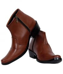 Gift Or Buy Elvace Brown Desert Boot-5011
