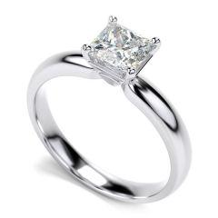 Diamond Rings - Sheetal Diamonds 0.20Tcw Stunning Real Round Princess Diamond Casual Wear Ring R0256-10K