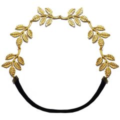 FashBlush Forever New Golden Leaves Young Head Band