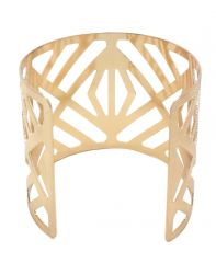 FashBlush Forever New Shinning Golden Hand cuff (Product Code FB26121)