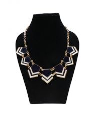 FashBlush Forever New Chevron Glam Alloy Necklace