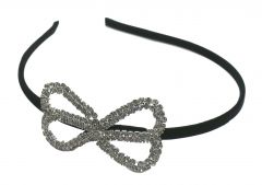 FashBlush Forever New Infinity Hair Band(Silver, Black)