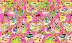 FashBlush Non-woven Free Play Mat Race Track (Multicolor, 1 Mat)