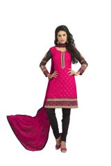 Kvsfab Amazing Coloure And Embroidered Suit  - Code(1362Sat-10)