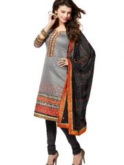 Kvsfab Indian Style Suit And Embroidered Work  - Code(8704Red-2)