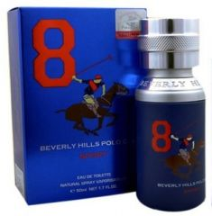 Beverly Hills Personal Care & Beauty - Beverly Hills Polo Club No 8 Perfume EDP - 50 ml(For Men, Boys)