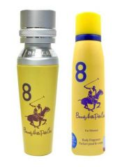 Beverly Hills Polo Club Yellow Bhpc Combo Set  (Set Of 2)