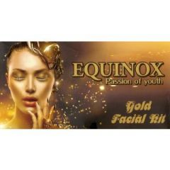 Equinox Forever Gold Facial Kit (250Ml) (Set of 5)