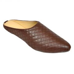Flat Slipons, Sandals - Altel Casual Stylish Brown Slip on (Product Code - foot_1339_brown)