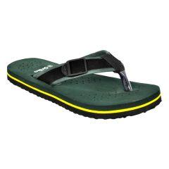 Altek Comfort Orthopedic Green Flip Flops For Men (Code foot_fl_1434_green_p100)