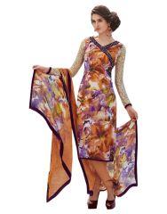 Sinina Multi Color Un Stitched Pure Crepe Dress Material (code - 123tangy6412a)