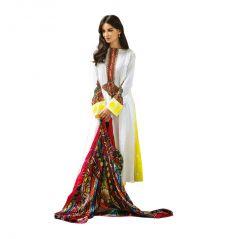 Sinina Women's Crepe Print/Embroi  Salwar Kameez UnStitched  Dress Material