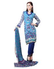 Sinina Women's  Cotton enhanced Dress Material