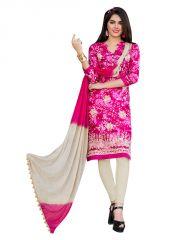 Sinina Dress Materials (Singles) - Sinina women's cotton multi colour un stitched dress material - Pristine05