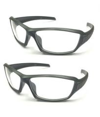 Set Of 2 Night Driving Glarefree Sungsunlasses With Clear Lens