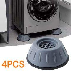 Feets Pads-anti Vibration Rubber Washing Machine Feet Pads (set Of 4)