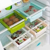 Multi Purpose Storage Rack Organizer For Refrigerators (color May Vary-set Of 4 Pieces)