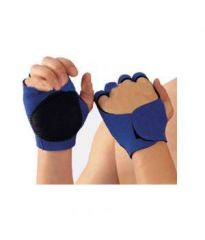 Omrd Gym Palm Finger Support Wrist Protection Fingerless Sports Gloves