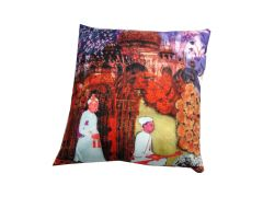 Welhouse India A Fakir Life 3D Cushion Covers - Pack of 1