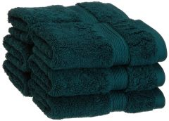 Welhouse india soft touch premium 100% cotton face towel set of 6-FCT_N-004