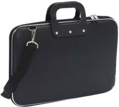 Colorful Stylish Carrying Case 15 Inch Laptop Bag Black - Welhouse India