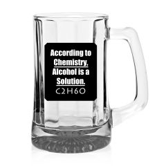 10 Am According To Chemistry Beer Mug - Bmac2