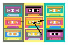10 am Cassette Clock- Acrylic ( CLC8 )