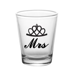 10 Am Mr. & Mrs. Shot Glasses - Sgmr5 ( Set Of 2 )