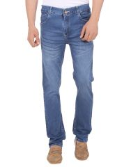Savon Mens 16103_03 Slim Fit Blue Stretch Denim Jeans For Men