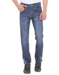 Savon Mens 16118_03 Slim Fit Blue Stretch Denim Jeans For Men