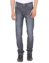 Savon Mens 16120_03 Slim Fit Blue Stretch Denim Jeans For Men