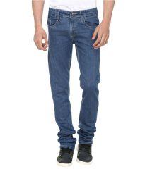 Savon Comfy Blue Slim Fit Basics Jeans