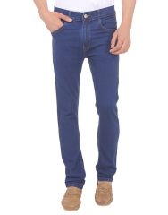 Savon Mens 18102_02 Slim Fit Blue Stretch Denim Jeans For Men