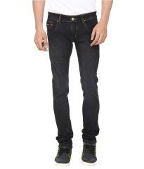 Jeans (Men's) - Savon Black Slim Fit Basics Jeans