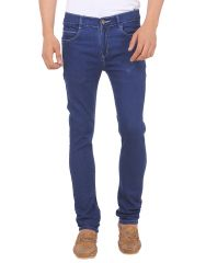 Savon Mens Ni9031_02 Slim Fit Blue Stretch Denim Jeans For Men